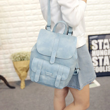2017 женщин корейской рюкзак школы подростки девушка старинные рюкзаки кожа pu дорожные сумки оптовая бесплатная доставка