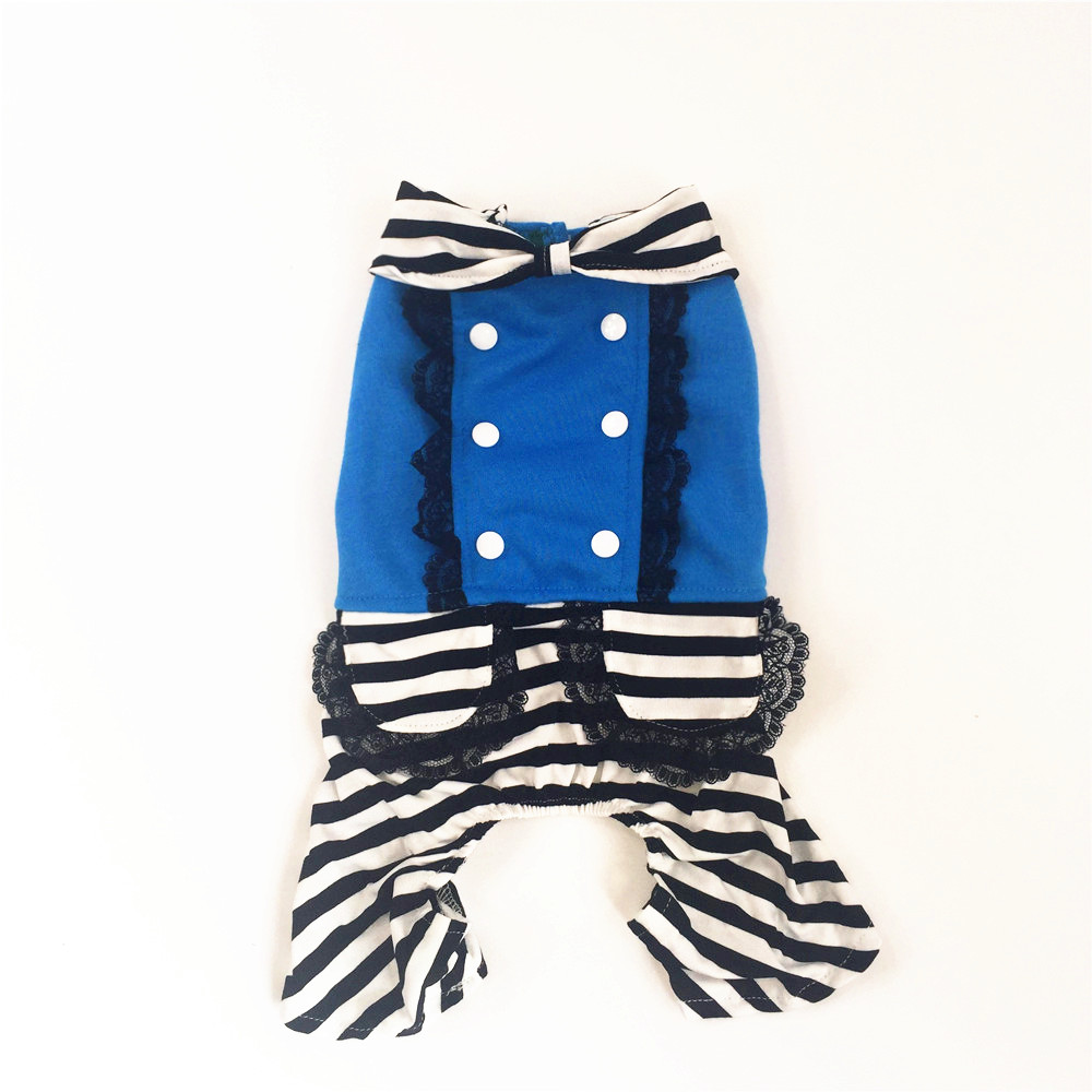 Sale Clothes For Dogs Cat Clothing Jumpsuit Pajamas For Small And Large Pet Animals With Lace And Bow High Quality