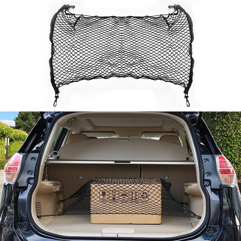 Сетчатая эластичная сетка для хранения в багажнике автомобиля, 4 крючка для Kia Rio K2 K3 Ceed Sportage 3 sorento cerato, подлокотник picanto soul optima