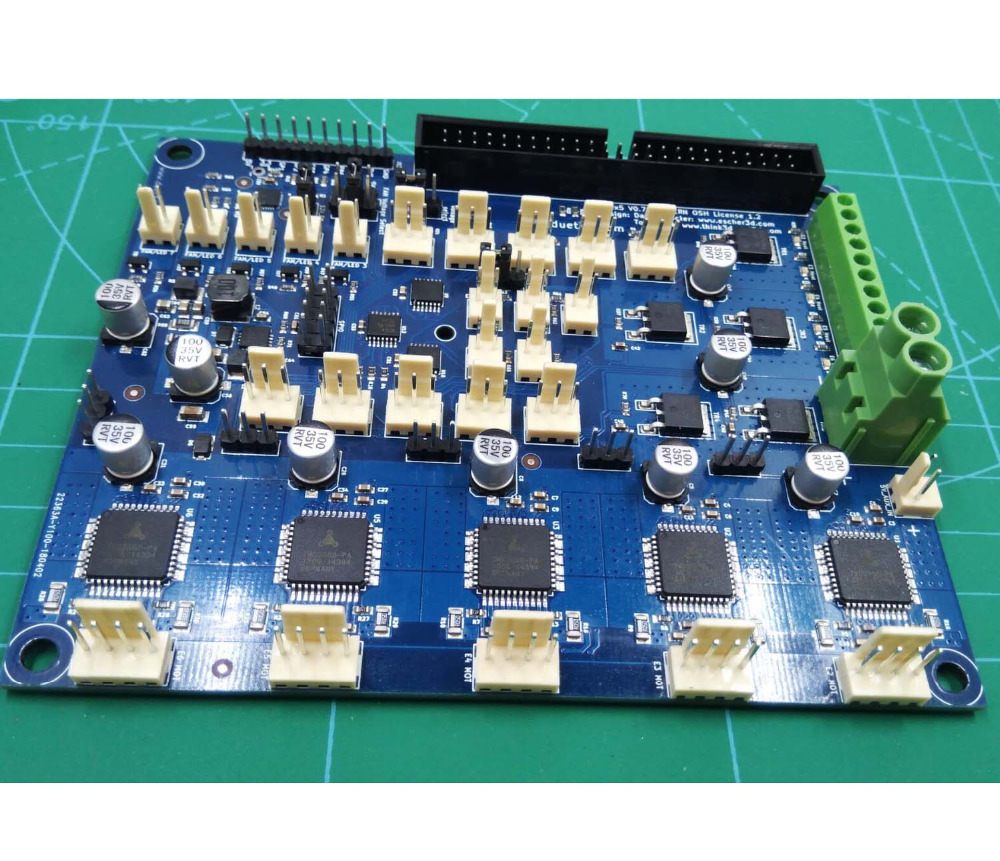 Carte d'extension Duet DUEX5 carte d'extension DueX 5 canaux pour imprimante 3D et machine à CNC