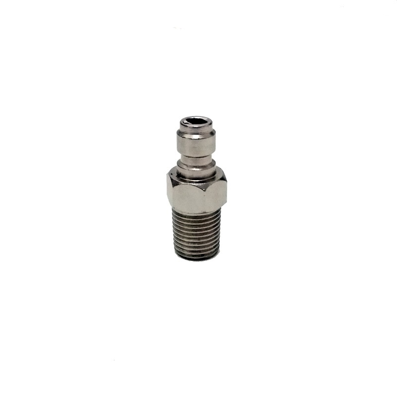 Paintball PCP Quick Disconnect 8mm Male Quick Head Connection Air Fitting 1/8 NPT