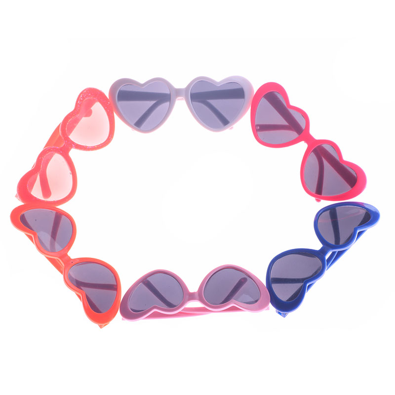 Stylish Sunglasses Heart Shape Frame Glasses 18inch American Doll Accessory