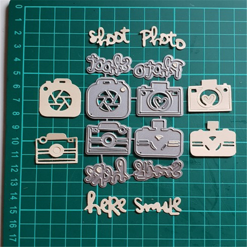 Metal <font><b>Cutting</b></font> <font><b>Dies</b></font> Stencils for Photo Decor Fustelle DIY Scrapbooking Craft <font><b>Stamps</b></font> <font><b>Dies</b></font> 2019 New Merry <font><b>Christmas</b></font> Card Embossing image