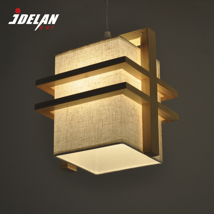 Northern Europe Style Single/Double Head Coffee shop/ Resturant bar lamps wooden thinning wood E27 wood pendant lamps ZDD0100Northern Europe Style Single/Double Head Coffee shop/ Resturant bar lamps wooden thinning wood E27 wood pendant lamps ZDD0100