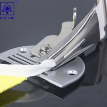 Q. X. YUN оверлок папка клейкая лента Размер 30 мм A10 Хеммер прямой угол Скоба Биндер для швейной машины обвязки кривой кромки