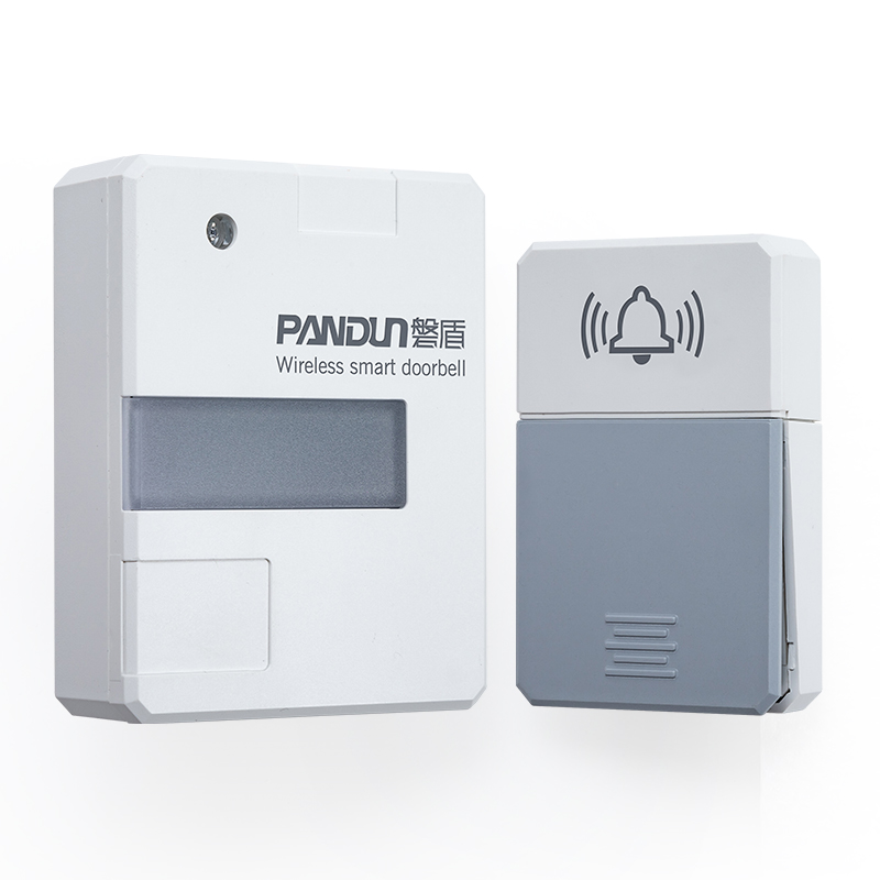 PANDUN Wireless Doorbell with Night Light No Battery Led Light Smart Doorbell 100-240V Door Bell With Waterproof Push Button