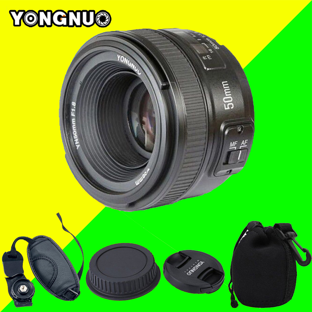 YONGNUO YN50MM F1.8 Large Aperture Auto Focus Lens for Nikon d7100 d3100 d5300 d7000 d90 d5200 d7200 d750 d610 , 50mm f1.8 Lens nikon lens 50 1 8 d nikkor af 50mm f 1 8d lenses for nikon d90 d7100 d7200 d610 d700 d810 d5 digital camera professional