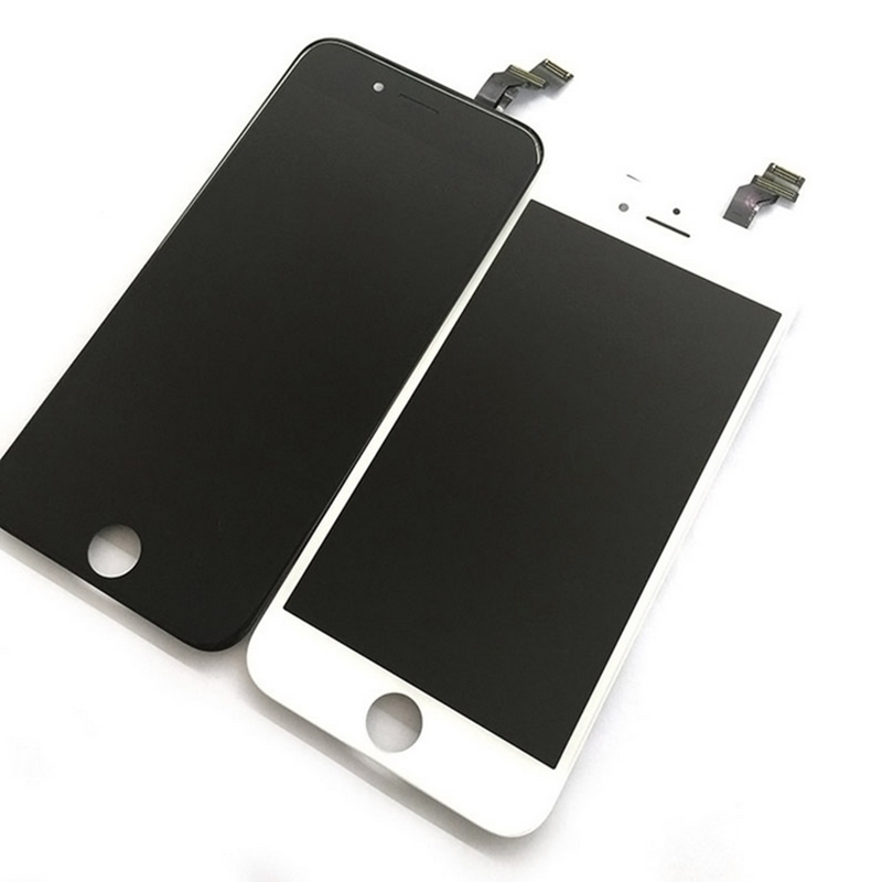 1 Pcs Black/white LCD for Pantalla iphone 5S Mobile Phone Touch Screen Digitizer Assembly Replacement Tools Without Dead Pixels