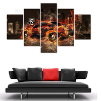 (Unframed) New Style Super Car Bedroom Painting Wall Art Home Decoration Canvas Paintings For Living Room