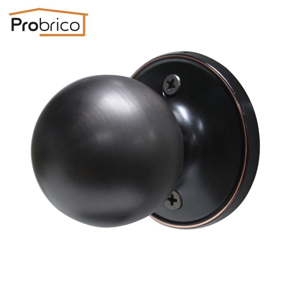 Probrico Antique Stainless Steel Half Dummy Interior Door Knob ...