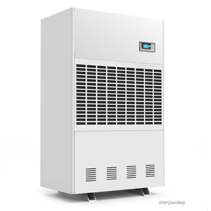 20KG/H industrial dehumidifier Multifunction commercial air dehumidifier for basement / workshop/laboratory /engine room 380v image