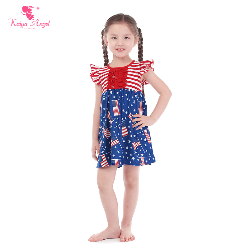 3e0e0752c51 Kaiya Angel 4th Of July Unicorn Fireworks Flag Patriotic Day 2018 ...