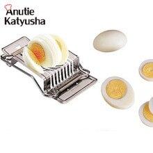 1 шт., резак для яиц из нержавеющей стали, Слайсеры для яиц, Многофункциональные кухонные Слайсеры для яиц, сектион, резак, пресс-форма, края, кухонный инструмент