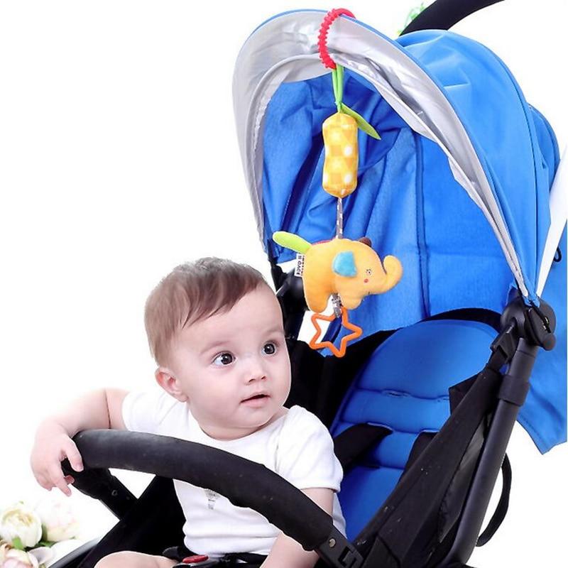 Մանկական նորածինների կենդանիների փղի - Խաղալիքներ նորածինների համար - Լուսանկար 5