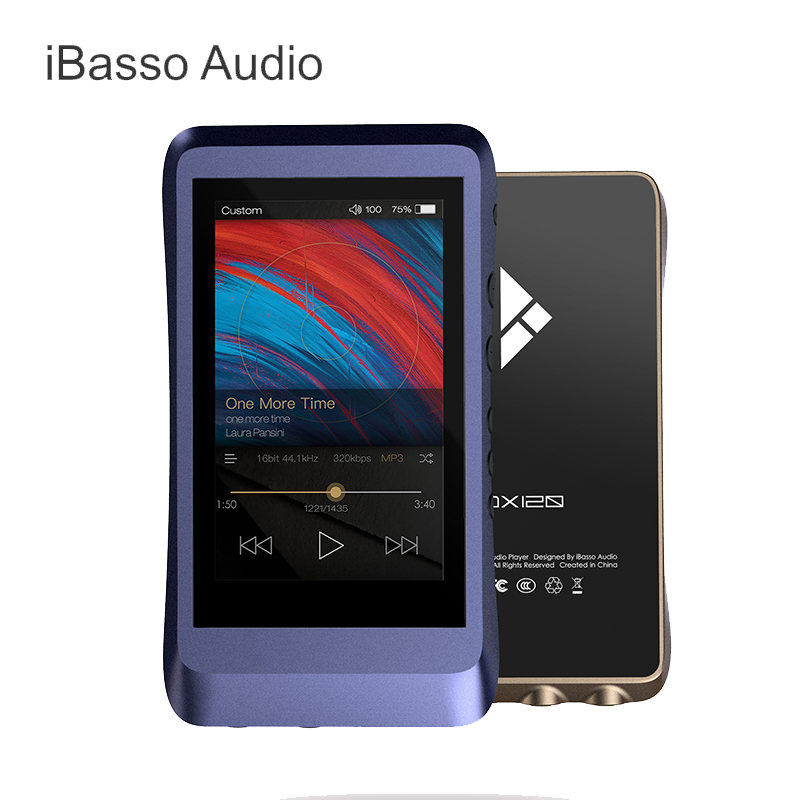 IBasso DX120 portátil MP3 AK4495 DSD USB DAC 2,5mm equilibrado y 3,5mm y salida Coaxial HIFI Lossless HD reproductor de música portátil MP3