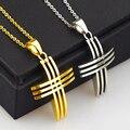 41MM Big Pendant 316L stainless steel pendants cross pendant cast thorn Men's Woman's for men woman necklace HZD02741
