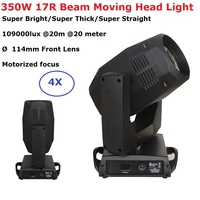 Sharpy Beam 350W 17R Moving Head Lights Party Disco Beam Lights 17/20 DMX Channels Perfect For Professional Stage Dj Xmas Lights
