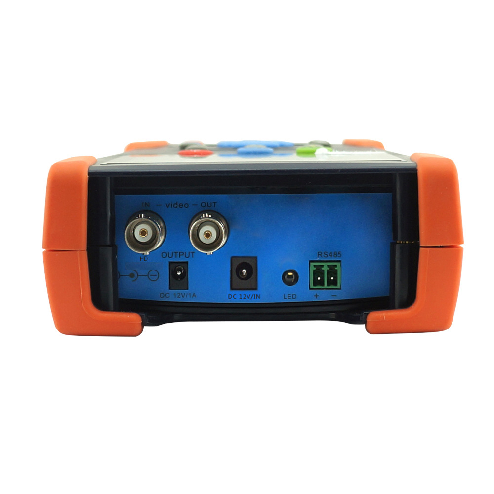 New H.265 4K IP tester 4MP 5MP IP Camera tester 5MP AHD camera tester with Digital multimeter test cctv test monitor