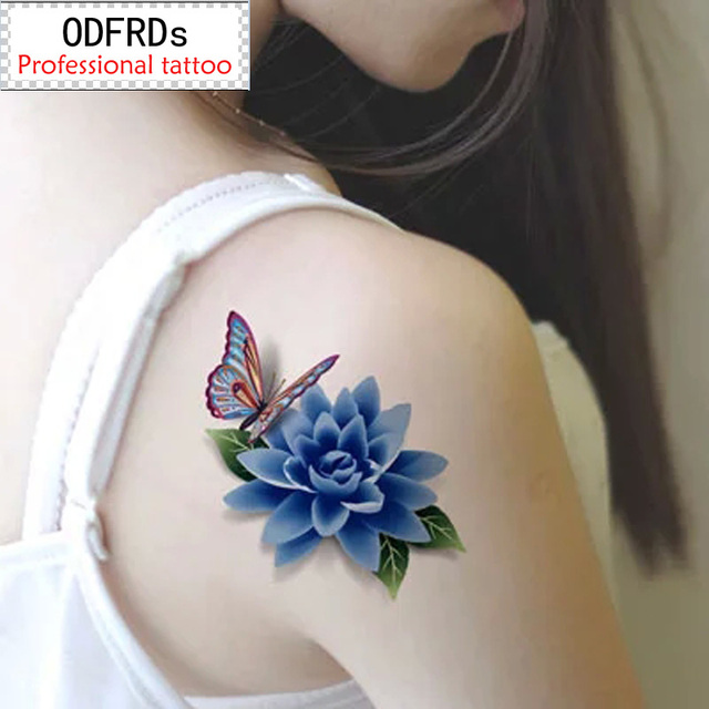 (Min Order $0.5) Waterproof Temporary Tattoo Tatoo Henna Fake Flash Tattoo Stickers Taty Tatto Style SYA101