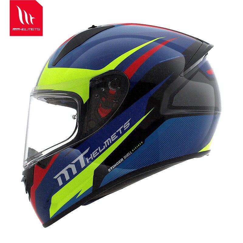 motorcycle helmet Full Face helmet dual lens Genuine Abs Pc material safety helmet