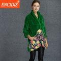 Mulheres Para Baixo Casaco de Inverno 2016 Senhoras Design Criativo Personalidade Da Moda Inverno Casacos de Lã De Cordeiro Jaqueta Casaco Feminino Casacos Y101