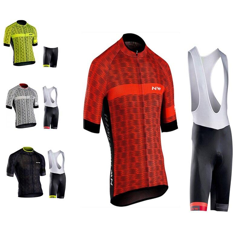 2018 Northwave NW Été Cyclisme maillot Vélo Vêtements Maillot Ropa Ciclismo VTT Vélo Vêtements de Sport Costume Vélo