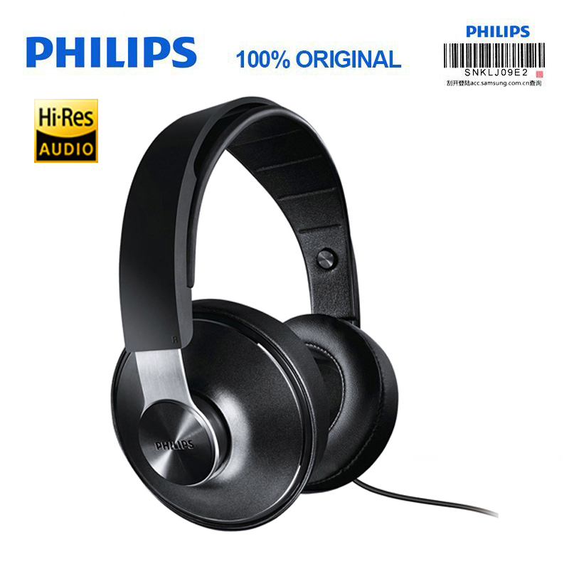 Philips SHP8000 Professional In-Ear Headphone Computer Sport Music Phone Subwoofer Universal for Xiaomi Official verification philips shp8000 professional headphones with long wires microphone volume control headset for xiaomi mp3 official verification