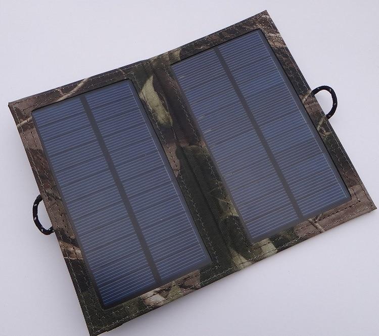4 Watt foldable solar panel battery charger for mobile phone/Ipad/power bank
