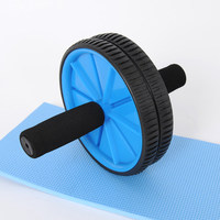 Classic Sport ab slimmer ab abdominal wheel round thin waist roller ab fitness equipment mute indoor abdominal curl wheel