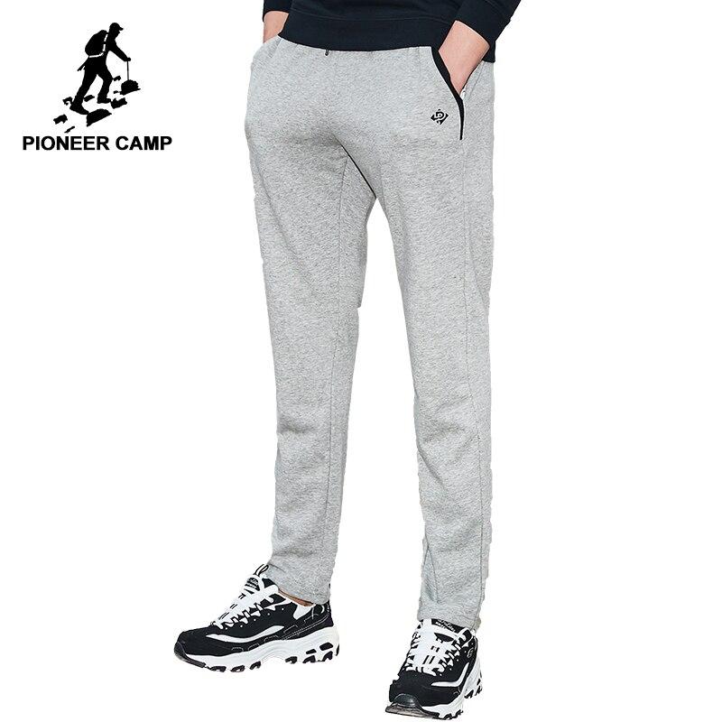 Пионерский лагерь брендовая одежда пот Штаны мужчин Осень-весна мужские повседневные штаны наивысшего качества прямые брюки AZZ701003