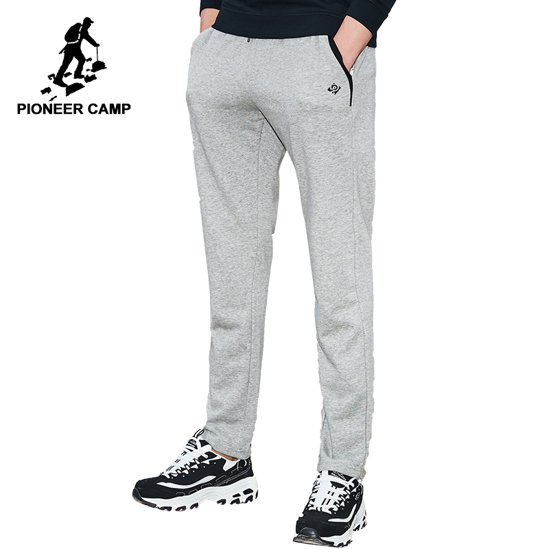 Pioneer Camp Brand Clothing Sweatpants Men Autumn Spring Male Casual Pants Top Quality Straight Trousers AZZ701003