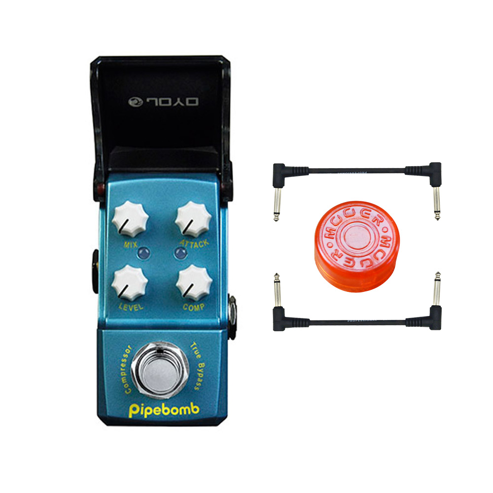 JOYO JF-312 IRONMAN Pipebomb Compressor guitar effect Pedal control dynamic output fatten your sound ture bypass free shipping free shipping joyo jf 311 blue rain new product mini guitar effect pedal warm and comfy overdrive best for solo ture bypass