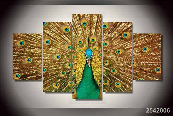 Hd Printed Peacock Feathers Painting On Canvas Room Decoration Print Poster Picture Canvas Free Shipping/Ny-1669 Christmas gift