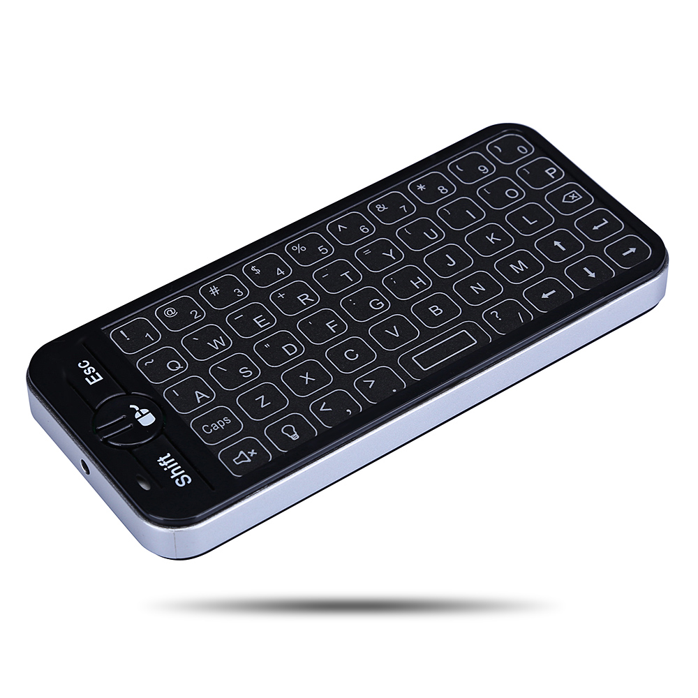 iPazzPort KP-16T Mini Wireless Micro USB Keyboard Touchpad for Android Mac OS Windows and Linux