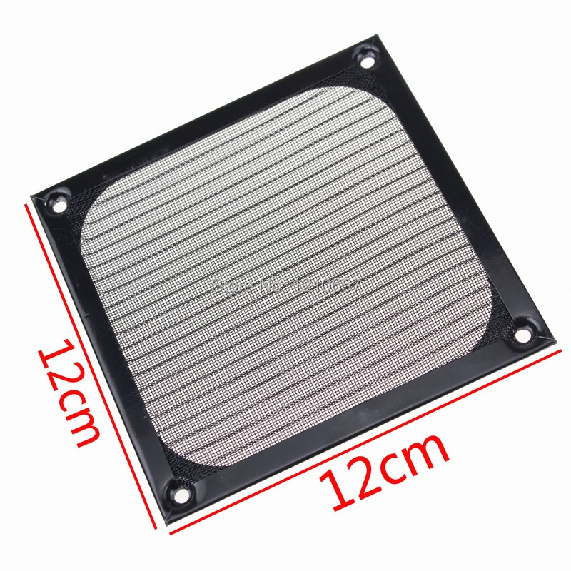 5Pieces lot 120mm PC Computer Fan Cooling Dustproof Dust Filter Case fr Aluminum Grill Guard personal computer graphics cards fan cooler replacements fit for pc graphics cards cooling fan 12v 0 1a graphic fan