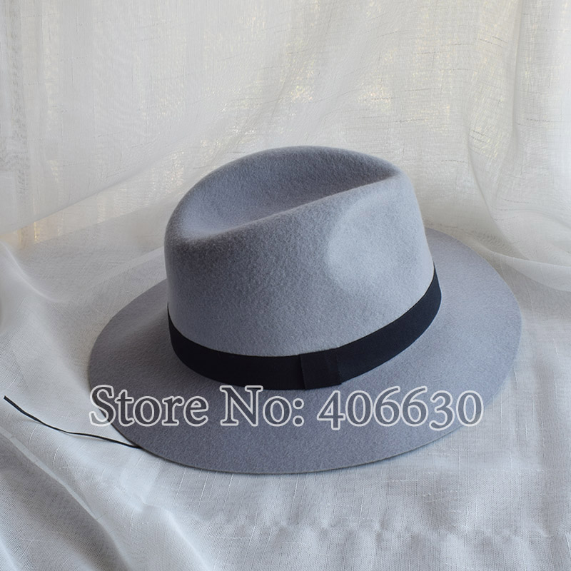 4ab2c6f8130 LongBaiLi Winter Women Wide Brim Wool Felt Fedora Hats With Letters Chapeu  Feminino Free Shipping SDDW073-in Fedoras from Apparel Accessories on ...