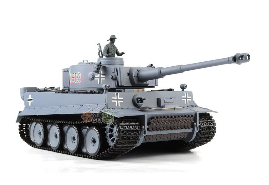 RC Tank Germany Tiger 1 Tank 2.4G 1:16 Scales 7CH Remote Control simulation Tank launch cannonball tank Model Toys