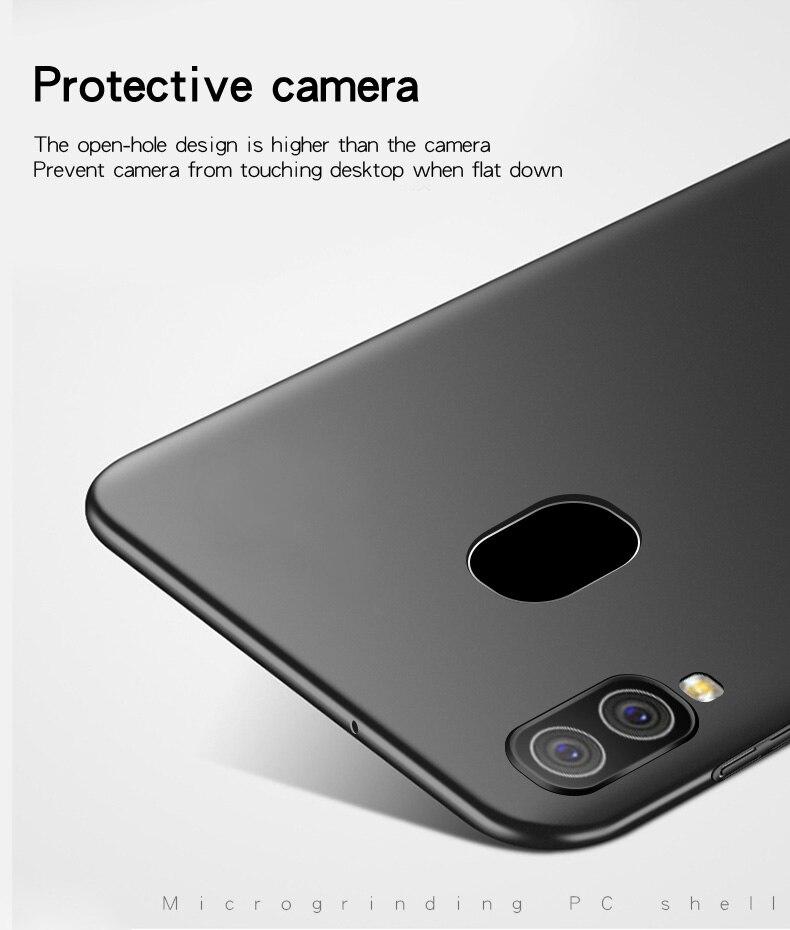 Чехол для samsung Galaxy A40, ультра тонкий чехол из поликарбоната, Твердый чехол для телефона, для samsung A40 A 40 A405F, чехол для телефона Wolfsay