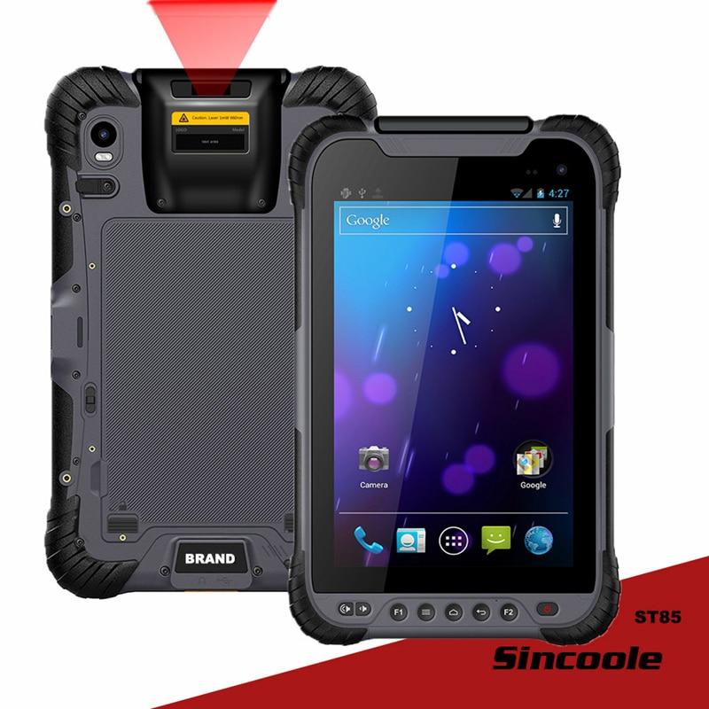 8 Pouce 4G LTE Android 7.0 USB Type-c 8400mhA Amovible Batterie Robuste Comprimés, Terminal portable