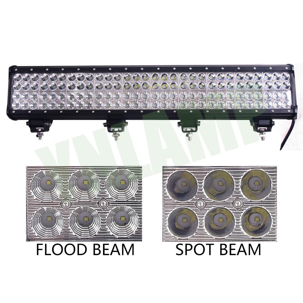 YNROAD 360w 28inch 4rows LED svjetlo Bar radno svjetlo Vožnja - Svjetla automobila - Foto 3