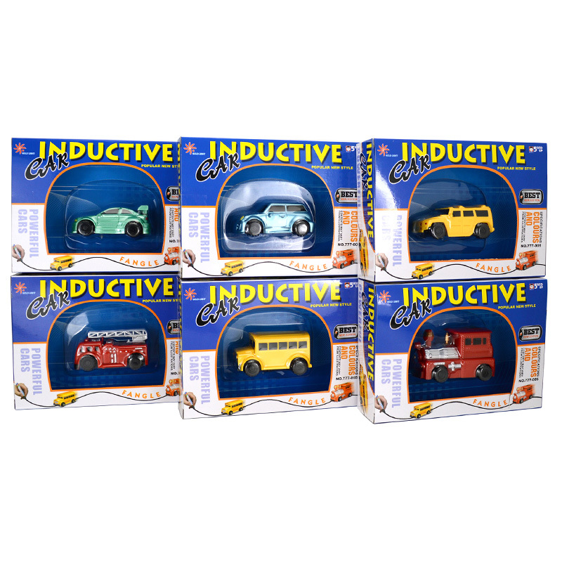 Box Package Children Magic Inductive Vehicle  Cars  Tank Toy  Gift No Battery No Mark Pen