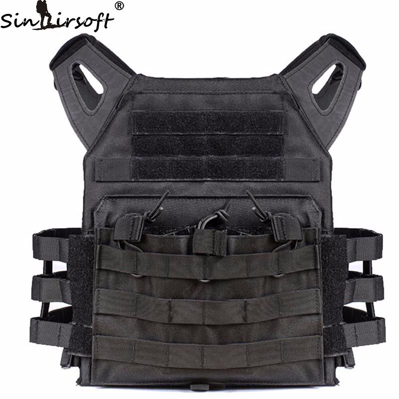 2016 Camouflage Hunting Military Tactical Vest Wargame Body Molle Armor Hunting JPC Vest Simplified Version Airsoft Combat Gear top quality 1000d military vest airsoft tactical equipment hunting molle combat vest hunting gear police clothes