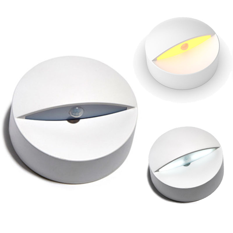 LED Cabinet Closet Light PIR Motion Sensor Lamp Led Blubs white bright for Kitchen Wardrobe Cupboard
