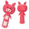 Автомобильные Аксессуары Интерьера Ремней безопасности Обивка Домашних Животных Красный Свинья Стиль для Детей Подарок На День Рождения Мультфильм Милые Куклы