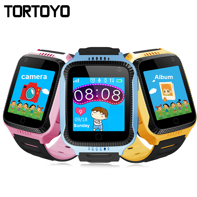 TORTOYO Q528 Kid Smart Watch Phone AGPS+LBS Positioning With Flashlight Camera SOS Voice Chat Anti Lost Safe Monitor Baby Gift