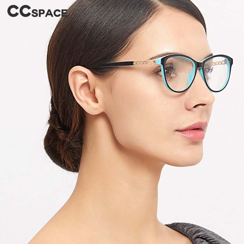 45704 Cat Eye Glasses Frames Men Women Optical Fashion Computer Glasses