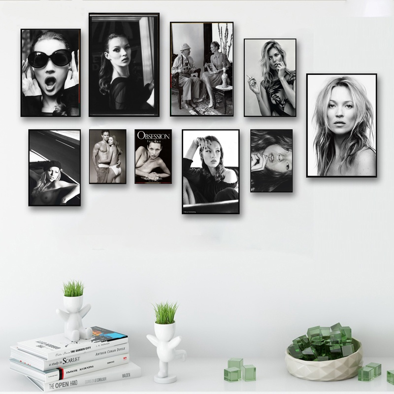 CANVAS Kate Moss #23 POSTER