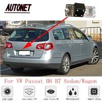 AUTONET rear camera For Volkswagen VW Passat B6 Sedan/Wagon TYP3C 2005~2015 CCD Night Vision Backup camera license plate Camera