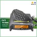 Original Mobile Car Radio TYT TH-9800 VHF50W UHF35W 800CH Quad Band Cross-Band Dual Display Screen Scrambler Transceiver