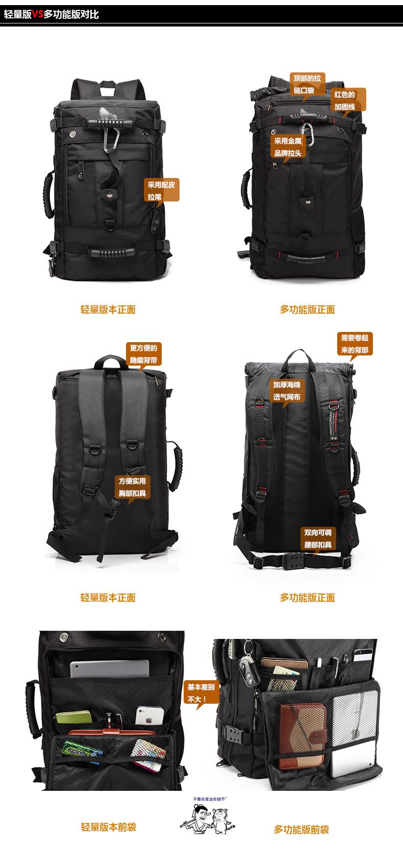 سعة حقيبة متعددة 15 8
